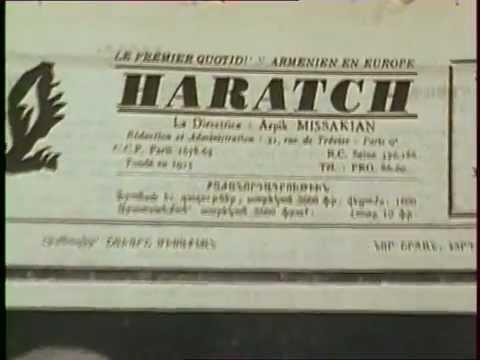 La presse arménienne à Paris - 1989
