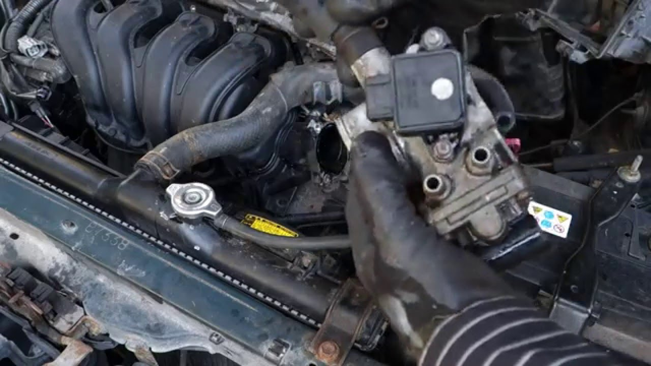 how to replace throttle body toyota vvt