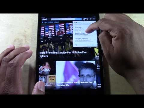 IPad - NEW Aol Mail App (First Look) | H2TechVideos