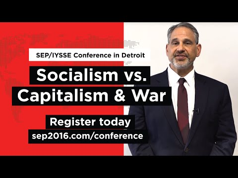 SEP/IYSSE issues call for socialist anti-war conference