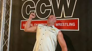The Bus Andy English Challenges The Blue Chip Bo Tayvian for CCW's Luchamania 2020 in Nashville