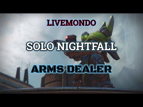Destiny 2 Solo Nightfall Arms Dealer