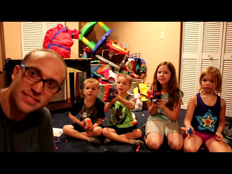 Nerf War:  Mail Time Mayhem 15