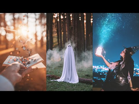 How to Creative shoot Props/Portrait in Autumn magic. 📷🍁 (Easy Photography Ideas)