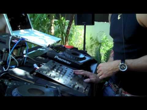 J Diesel at Artisan pool Las Vegas