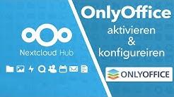 OnlyOffice in Nextcloud Hub (V18) aktivieren - integrierter OnlyOffice Document Server