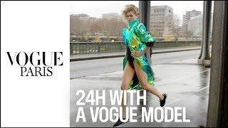 24 Hours With A Vogue Model In Paris - By Loic Prigent For Vogue Paris & Nike Cortez