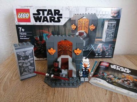 Heti videó: 33# Lego Star Wars 75310 Duel On Mandalore