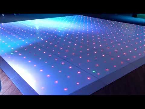 RGBW LED Light Up Dance Floor For Hire