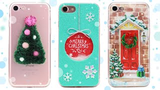 DIY Christmas Phone Cases Decorations