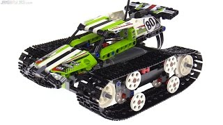LEGO Technic RC Tracked Racer review! 42065
