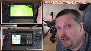 Typhoon-H, CGO3+ Kamera über einen Stick steuern.. ST16- Feature