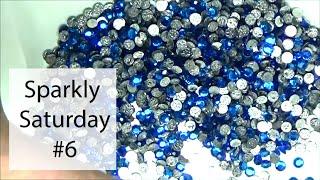 Sparkly Saturday #6 - The Bead Factory Unboxing -  Preciosa Hot Fix Rhinestones