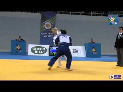 Judo 2014 European Championships Cadets: Starke (GER) - Boudouaia (FRA) [-52kg] bronze