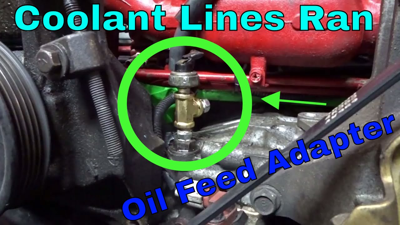 Ej22 Turbo Build Oil And Coolant Lines Getting The Rest Of Engine Diagram Parts