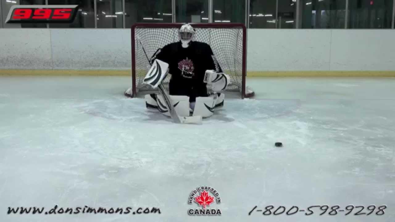 simmons hockey. simmons 995 pads hockey