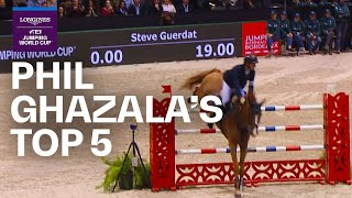 Phil Ghazala's Top 5 Jumping Moments | Longines FE...