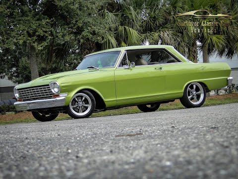 1964 Chevrolet Nova Chevy II Pro Touring Restomod For Sale Tampa   #0119 - SOLD