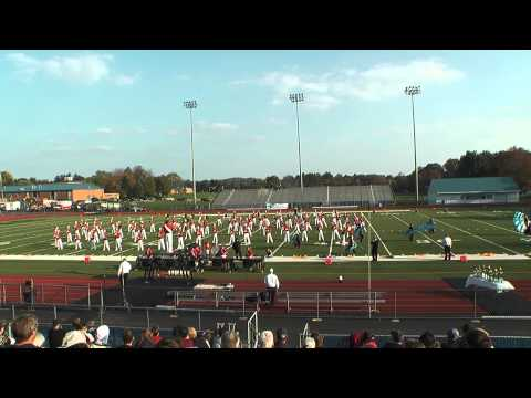 Pennsbury marching band Oct. 23, 2011