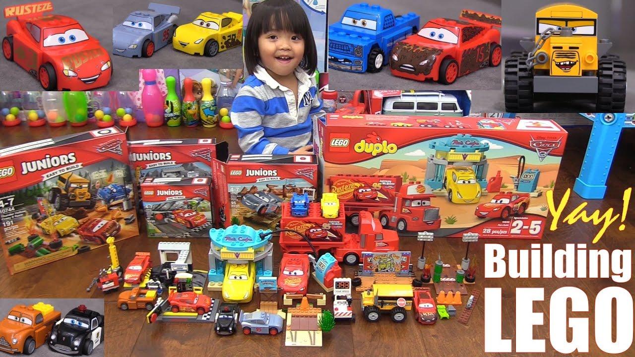 Disney Cars 3 Lego Sets Lego Juniors And Lego Duplo New