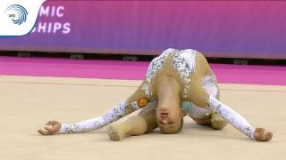 Aleksandra SOLDATOVA (RUS) – 2017 European silver medalist with Ball