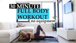 30 MIN FULL BODY WORKOUT / TrainLikeaBallerina