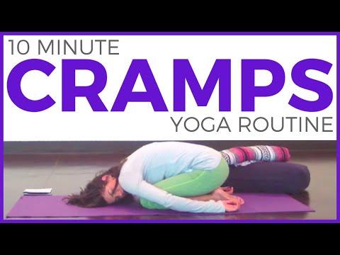 yoga pms cramps  kayaworkoutco