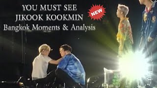 YOU MUST SEE💜JIKOOK KOOKMIN bangkok moments & analysis (includes what you see for the first time)