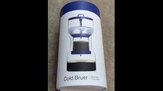 Cold Bruer مراجعة ووصفة آداة التقطير البارد