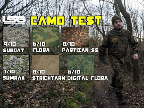 Airsoft - Russian Camouflage Testing