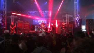 Pig Destroyer @ Hellfest 2013 - Clisson - (1) - 23/06/2013