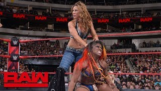 Nia Jax & Ember Moon vs. Mickie James & Alicia Fox: Raw, Sept. 17, 2018