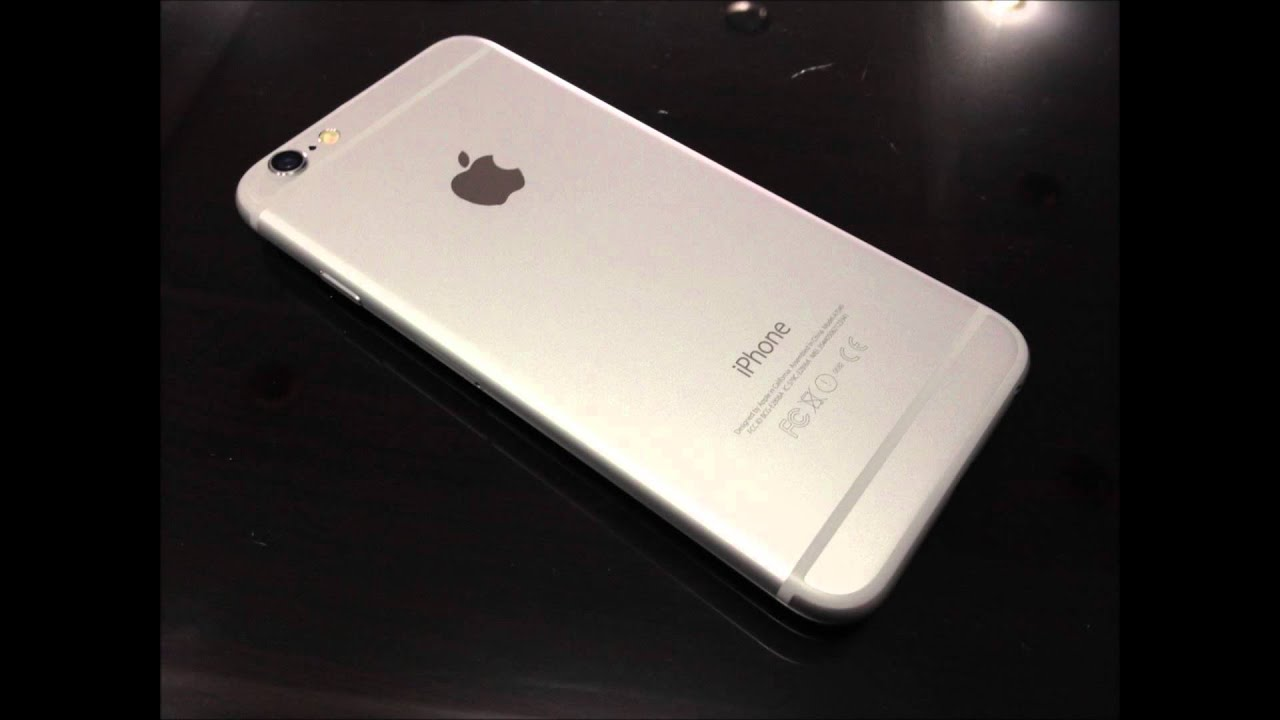 iPhone 6 silver color - YouTube