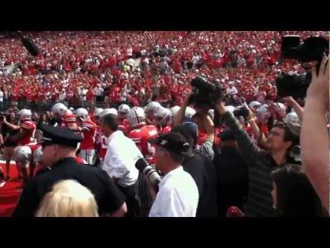 Ohio State Buckeyes Football Entrance vs. California
