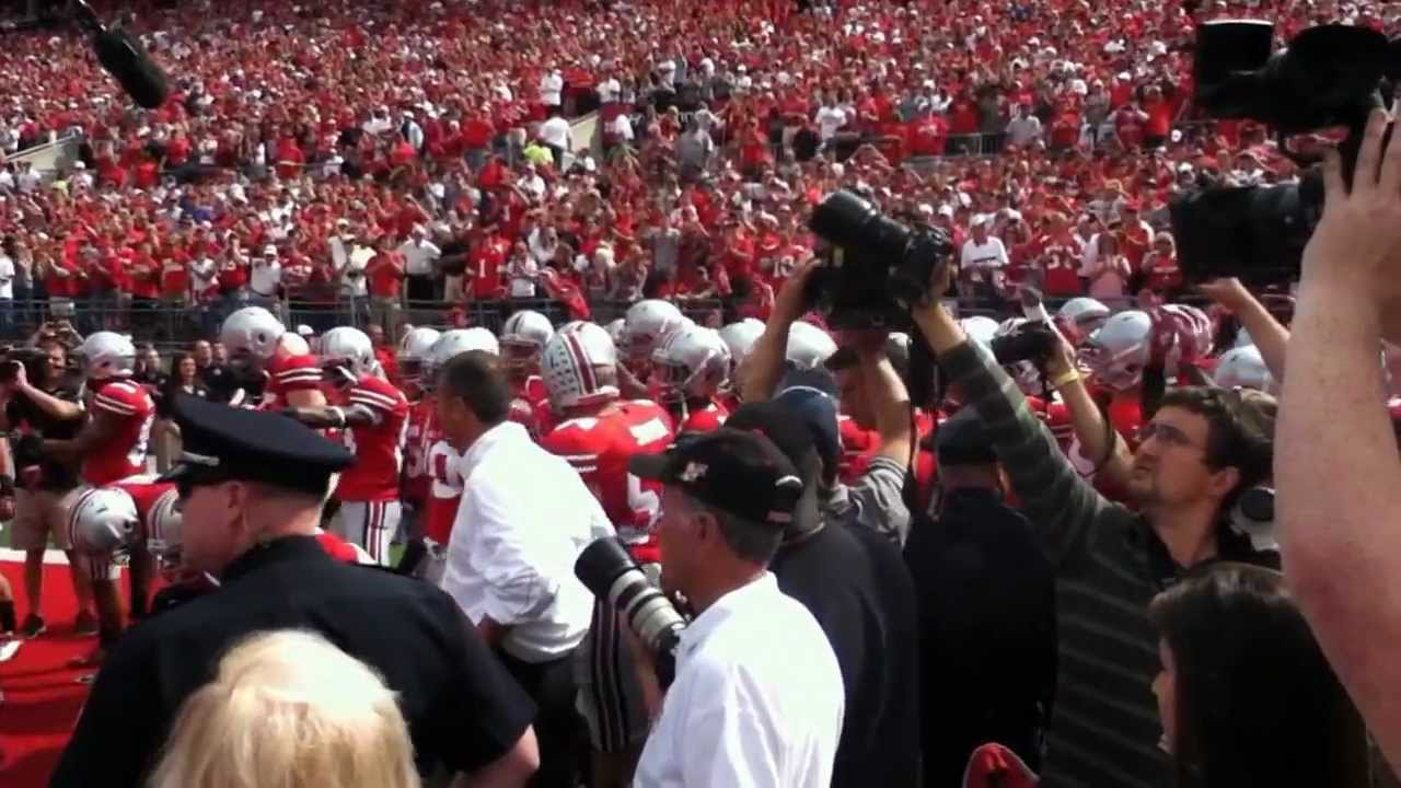 Ohio State Buckeyes Football Entrance ...
