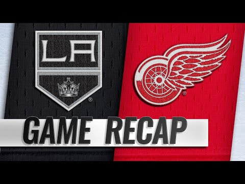 Howard, offense lead Red Wings past Kings, 3-1