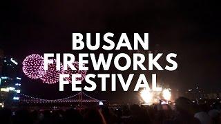Busan Fireworks Festival at Gwangalli Beach