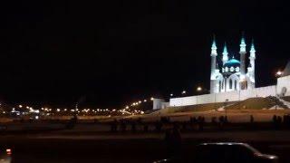 Казань: Мечеть Кул-Шариф, Кремль, отель Мираж и КРЦ Пирамида.