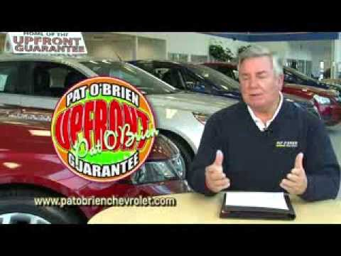 Pat O Brien Chevy >> What Does Upfront Pricing Mean Pat O Brien Chevrolet