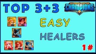 DHC   Top 3+3 Healers Fáciles - Guía Dungeon hunter champions Español