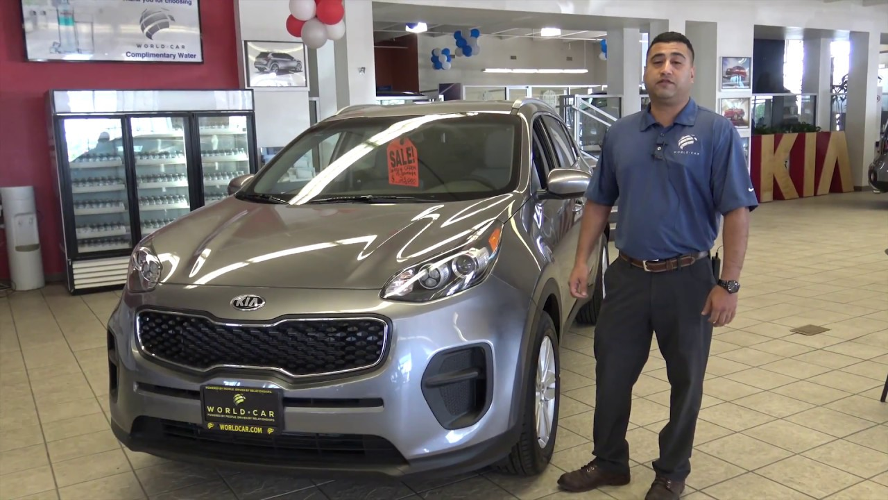 Kia Sportage   Juan   World Car Kia South