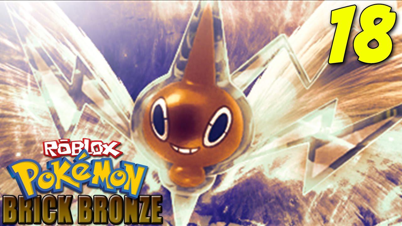 roblox pokemon brick bronze how to get rotom