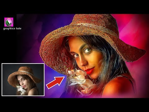 Digital  Painting  Photoshop Tutorial | Photoshop Painting Tutorial | Photo Effect In Photoshop thumbnail