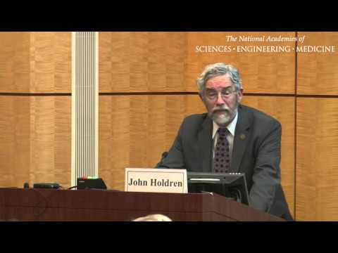 John Holdren, White House Office of Science and Technology Policy