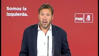 28.08.2017 Rueda de prensa de Óscar Puente