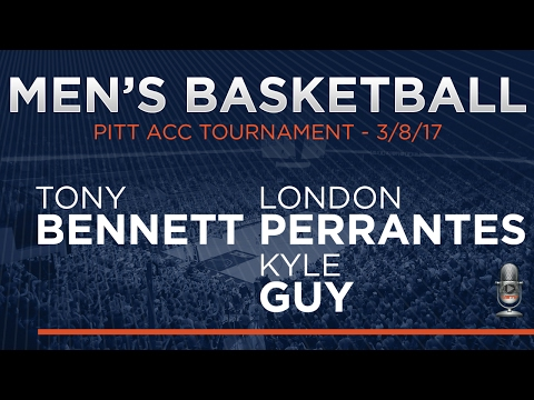 MEN'S BASKETBALL - Virginia vs. Pitt ACC Tournament Postgame