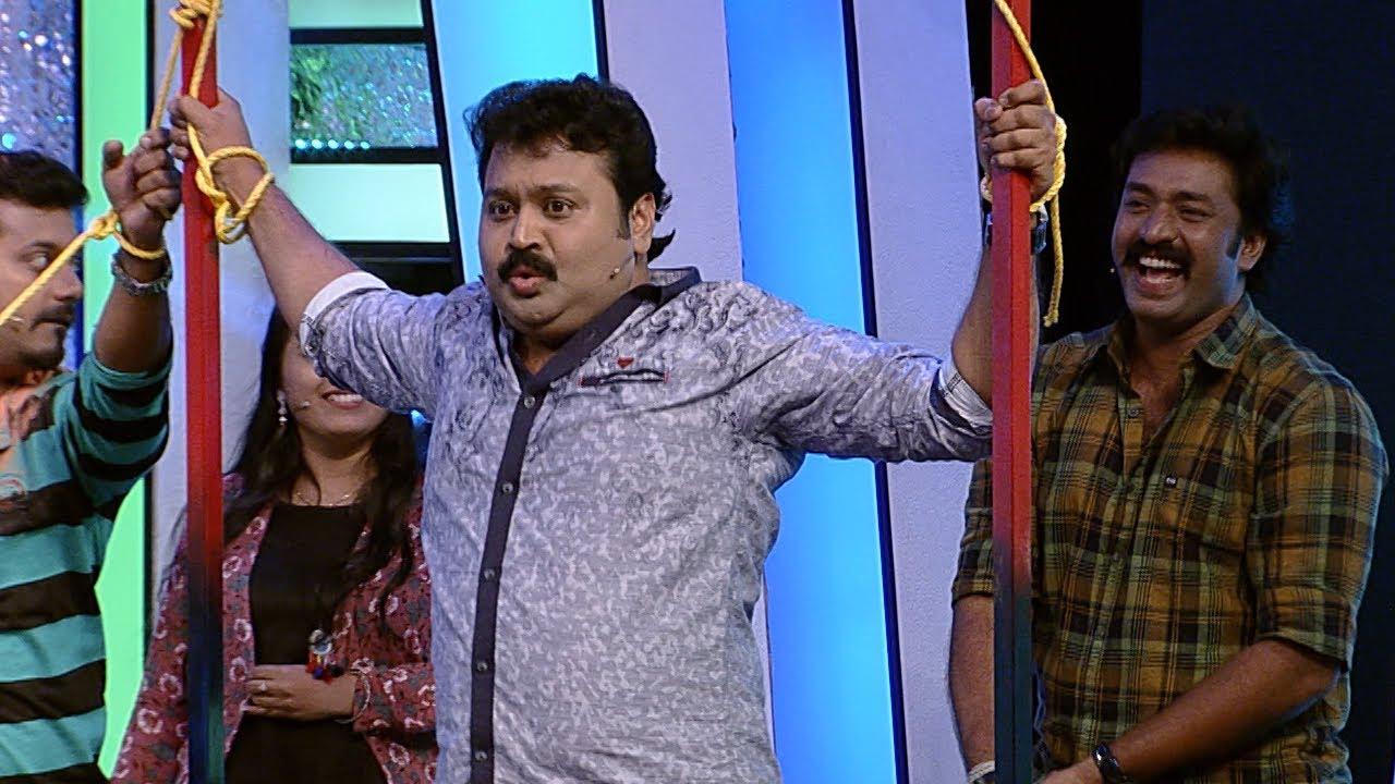 Thakarppan Comedy | Punishment for Shibu Laban | Mazhavil Manorama