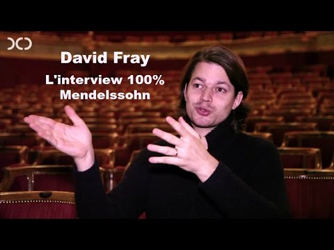 "L'interview ""100% Mendelssohn"" du pianiste David Fray"