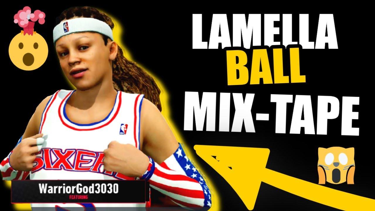 💯 NBA LIVE 19 LAMELLA BALL 1ST  MIXTAPE GODDESS MODE MIXTAPE NBA LIVE THE ASSEMBLY #mixtape #nba
