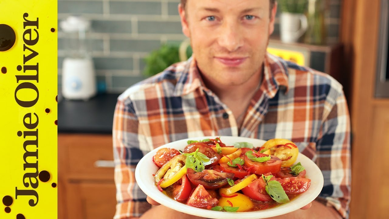 Jamie S Ultimate Tomato Salad Youtube